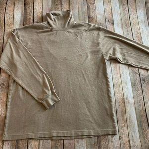 Bolle golf men's turtle neck long sleeve tee shirt